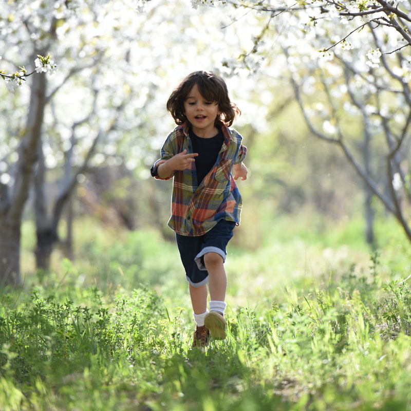 Exercise is a key component of healthy living for under-fives