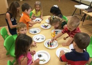 Education through creative play at nursery